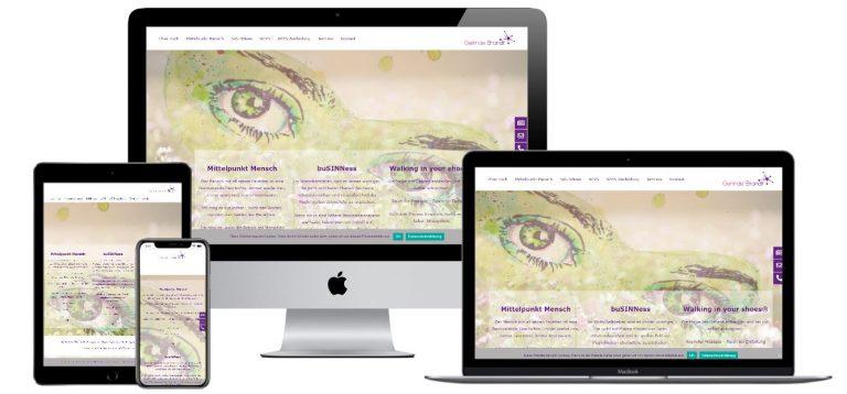 Webseite Gerlinde Brandt